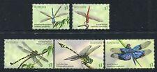 2017 Dragonflies -  MUH Set of 5 Stamps