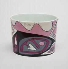 Emilio Pucci for Rosenthal Studio-Line Porcelain Vase Signed RARE