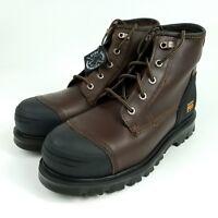 Men's Timberland Pro Caprock Alloy Toe Waterproof Work Boots Sz 10 W A11SM