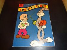 Looney Tunes #206 Dell December 1958 Bugs Bunny Comic Book FN Silver Age
