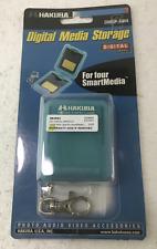 Hakuba Smartmedia Hard Case, Stores 4pcs of SM card