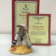 Royal Doulton Bunnykins Sailor DB166 With original Box And Certificate