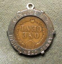 Genuine U.S. Indian Head Penny // (Blank). Encased 1897 Indian Head 1c