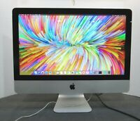 "Apple iMac A1418 21.5"" 2.9GHz i5-3470S 8GB RAM 500GB SSD OS 10.14 Screen Issues"