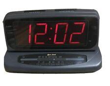 Lenoxx Sound Model CR-773 Digital Dual Alarm AM/FM Clock Radio Tested Used