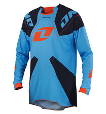 NEW ONE INDUSTRIES GAMMA  BLUE JERSEY MX ATV BMX  LARGE L