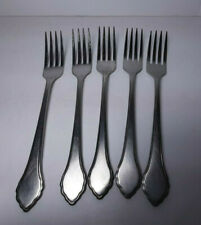 New listing 5 Oneida Summer Mist Autumn Glow Dinner Forks Stainless Flatware Silverware