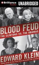 Blood Feud : The Clintons vs. the Obamas by Edward Klein (2015, CD, Unabridged)