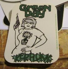 GREEN DAY STICKER COLLECTIBLE RARE VINTAGE 2004 METAL LIVE WINDOW DECAL
