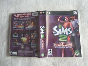 The Sims 2: Nightlife Expansion Pack (PC, 2005)