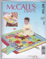 McCall's Sewing Pattern Craft Play Quilt & Mats  M7104