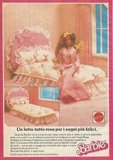 X1064 BARBIE - Un letto tutto rosa - Mattel - Pubblicità 1988 - Advertising