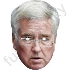 Michael FALLON politico conservatore CARTA MASCHERA-tutte le nostre maschere sono pre-tagliati!