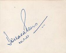 DONALD PEERS + RAWICZ & LANDAUER - Signed Album Page - MUSIC/RADIO/TV