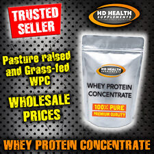 3KG PURE WHEY PROTEIN CONCENTRATE POWDER | RAW & UNFLAVOURED GRASS FED WPC