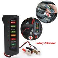 24V Car Digital Battery Alternator Tester 6 LED Lights Display Diagnostic Tool
