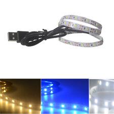 5V 2835 30SMD/50CM Weiß/Warmweiß/Blau LED Lichterketten Bar TV Back Lichter DE