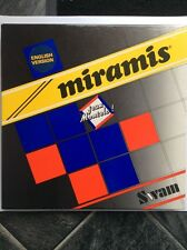 Miramis Crossword Game By Laurent Montels 1986 English Version Very Rare In Uk