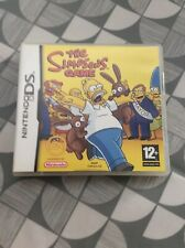The  Simpsons Game Nintendo Ds Boxed With Booklet