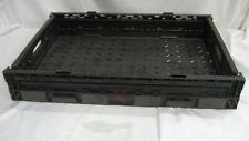 2 ea - Black Stacking Hays 6409 Flatware rack 24 x 16 collapsible w/warranty