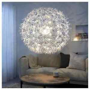 IKEA MASKROS Pendant Ceiling Light 80cm Huge Dandelion Chandelier NEW