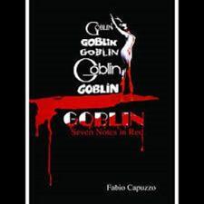 BOOK - GOBLIN SEVEN NOTES IN RED Fabio Capuzzo UK ed. hardback cover