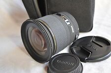 Sigma EX DG RF 20mm F/1.8 für Canon EF, top!