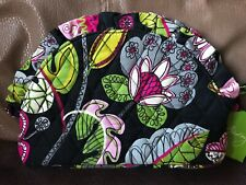 Vera Bradley Ruffle Cosmetic Bag Moon Blooms New, Exact Item Shipped, Retired