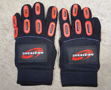 Sheridan Paintball Gloves Small Red/ And Black Full Finger, New 1/2 Price Sale!