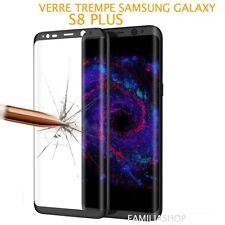 Pellicola vetro temprato NERO integrale totale curvo samsung galaxy S8 PLUS