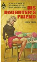 Midwood F378 His Daughter's Friend by Russell Trainer Vintage Sleaze Paperback