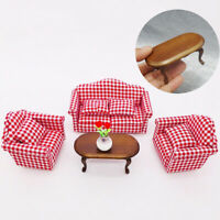 KQ_ IC- DI- KQ_ Qu_ 1/12 Dollhouse Miniature Furniture DIY Kit Wood Toy Doll Hou