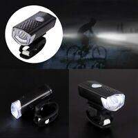 Road Bycicle Bike Front Light MTB LED Headlight Headlamp USB Rechargeable Lights