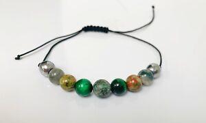 New gemstone power protection bracelet Tiger Eye Hematite Healing Stones