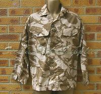 UK BRITISH ARMY SURPLUS G1 SOLDIER 95 DESERT DPM CAMO POLYCOTTON COMBAT SHIRT