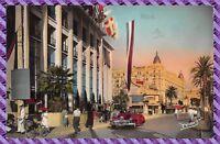 Carte Postale - CANNES - La croisette et le Palais des Festivals