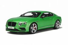 GT SPIRIT 1/18 Bentley Continental GT V8S Green RESIN REPLICA GT077