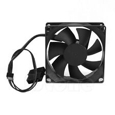 Brushless DC Cooling Cooler Fan 12V 7 Blades 80x80x25mm Hydro-bearing NEW