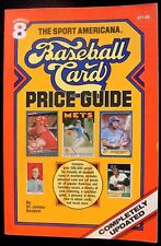1986 SPORTS AMERICANA BASEBALL CARD PRICE GUIDE #8 BY BECKETT & ECKES