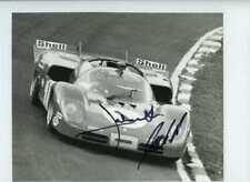 Jacky Ickx & Jackie Oliver Ferrari 512 S BOAC 1000 Km's 1970 Signed Photograph 3