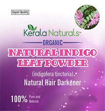 INDIGO POWDER 1 kilo (35.27 oz) No Additives PURE NATURAL HAIR COLORANT / DYE