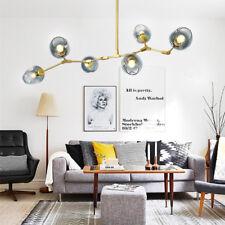 Kitchen Lamp Large Chandelier Lighting Modern Pendant Light Glass Ceiling Lights