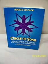 NM -Circle of Song - Book & CD Pack - Songs/Chants & Dances By Kate Marks! F/S!