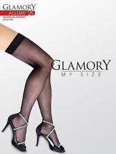 Unifarbene Glamory halterlose Strümpfe