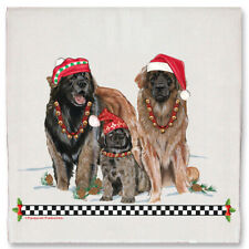 Leonberger Christmas Kitchen Towel Holiday Pet Gifts