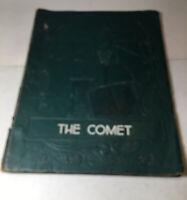 Vintage School Yearbook Annual 1952 The Comet Benton High School Nicholson Ga