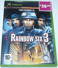 Tom Clancy's: Rainbow Six 3: For Original Microsoft xBox - Complete with manual