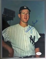 Whitey Ford Auto Autographed Signed Photo 8x10 with JSA! New York Yankees Legend