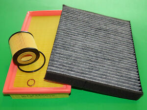 Ölfilter Luftfilter Pollenfilter Seat Ibiza 6L 1.2 (47kW/64PS) MKB: AZQ, BME