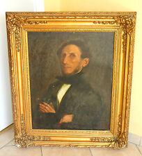 Ölgemälde/Lwd. - Porträt eines Herrn - um  1820